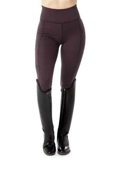 womens purple leggings