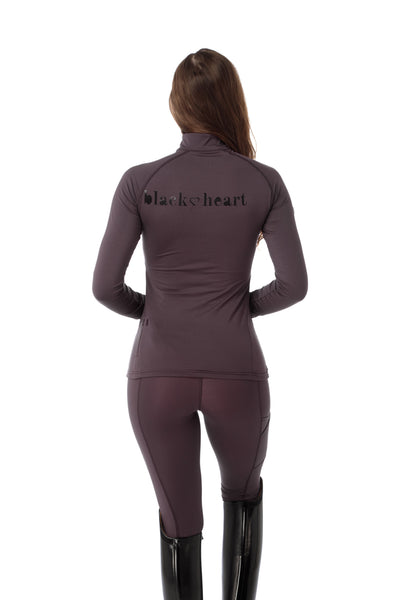 equestrian base layer plum