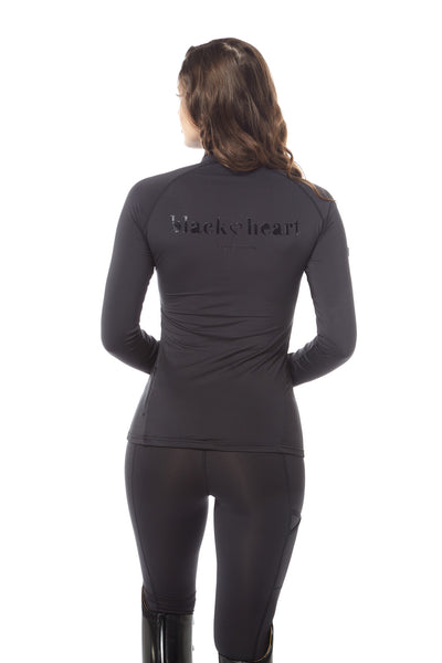 branded black base layer