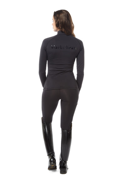 equestrian base layer black