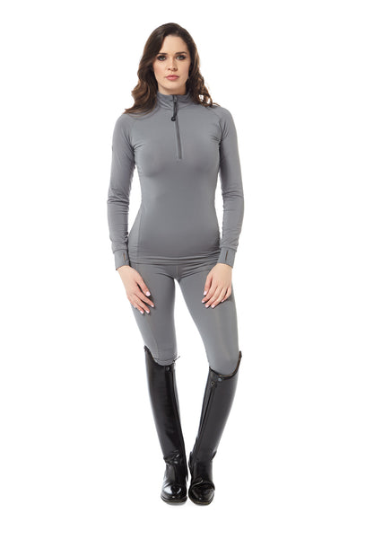 black heart grey base layer