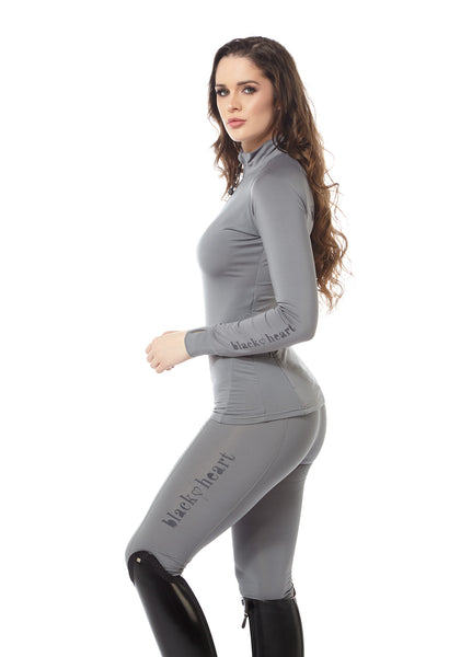 branded base layer grey