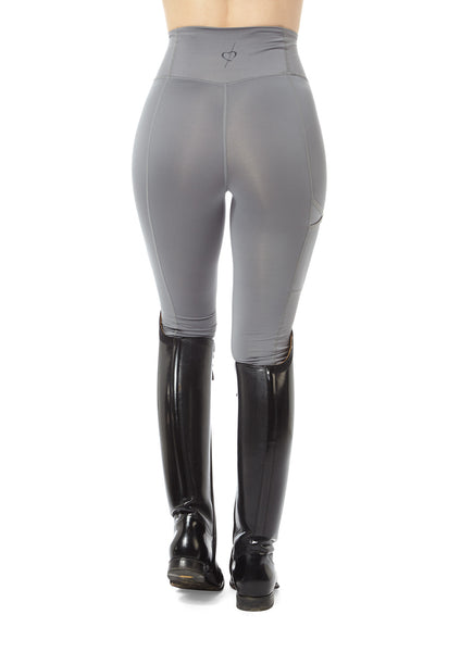 grey equestrian leggings