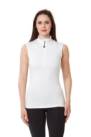 Sleeveless Base Layer - White