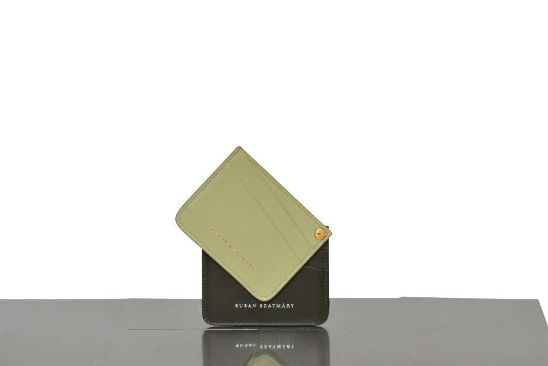 CARD HOLDER SAINT PLACIDE LEMON AND GREEN