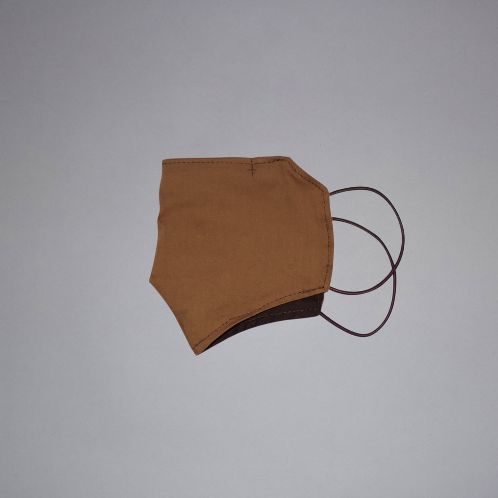 Light Brown Fabric Mask