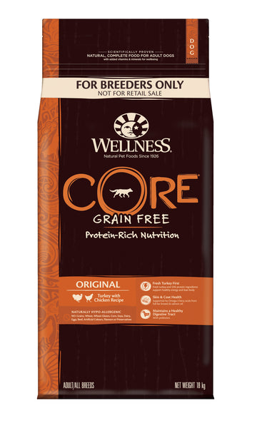 Wellness CORE Original - Turkey with Chicken 18kg