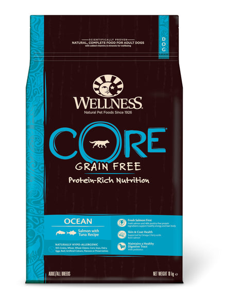 Wellness CORE Ocean - Salmon with Tuna 10kg