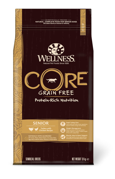 Wellness CORE Senior - Turkey with Chicken 4 x 1.8kg = 7.2kg