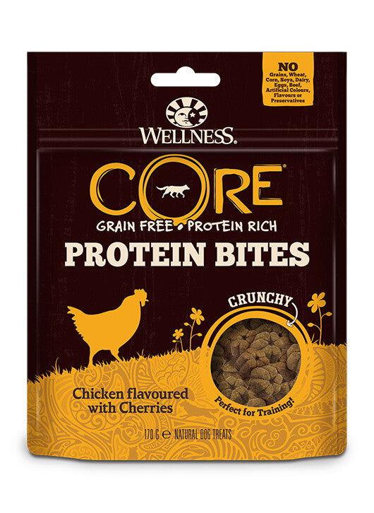 Wellness CORE Protein Bites Crunchy Chicken - 170g
