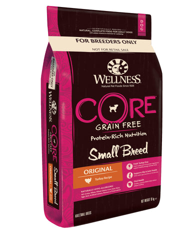 Wellness CORE Small Breed Original - Turkey 10kg