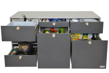Multivan V1 Rear Kitchen Module with Fridge