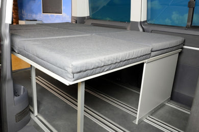 Biker Bed Single with Double Extension with 2 Single Mattresses