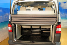 Transporter LWB SleepSystem with rear 3-seat