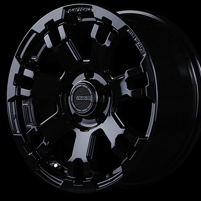 [Set of 4] RAYS DAYTONA FDX F7 WHEELS 16x7.0J +40 5x114.3 Black