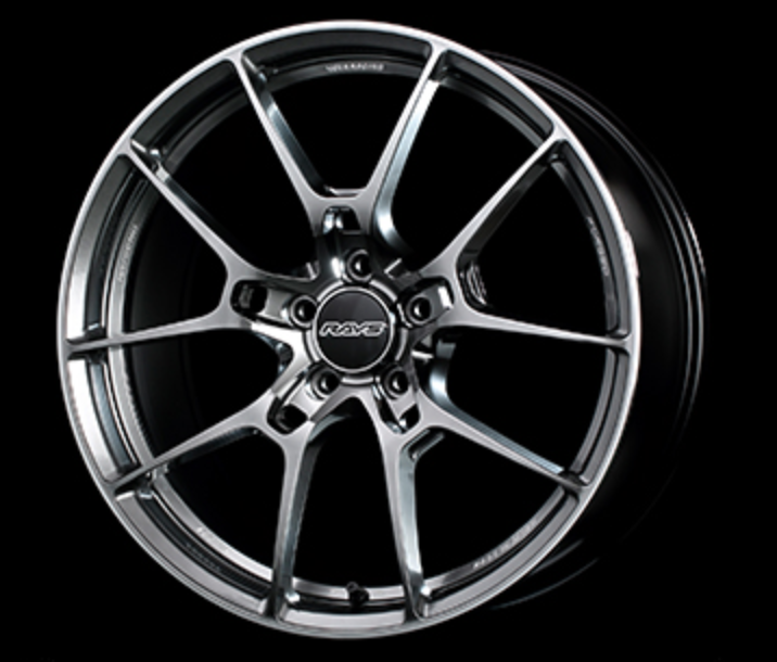 [Set of 4] RAYS VOLKRACING G025 19x8.5J +44 5x114.3 Formula Silver