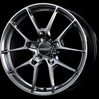 [Individually] RAYS VOLKRACING G025 19x8.5J +38 5x114.3 Formula Silver