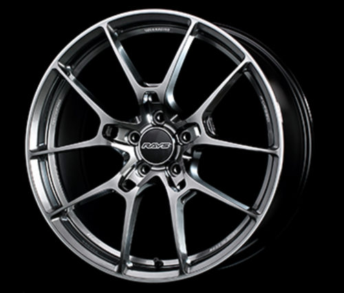 [Set of 4] RAYS VOLKRACING G025 19x8.0J +38 5x114.3 Formula Silver