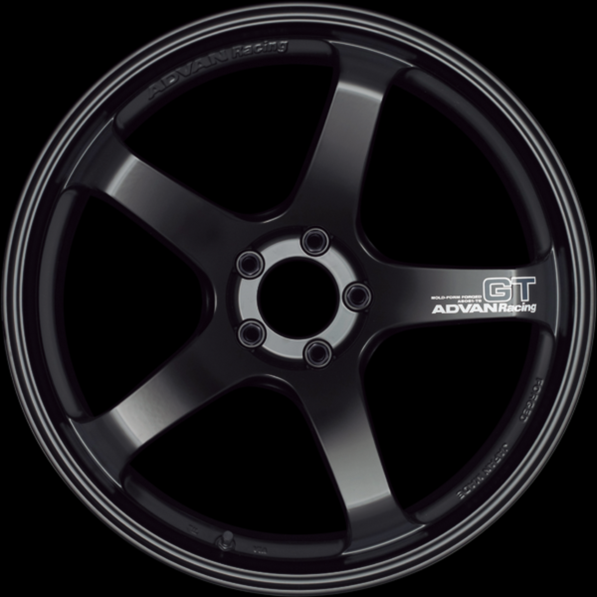 [Set of 4] YOKOHAMA ADVAN Racing GT 19x9.5J +45 5x100 SEMI GLOSS BLACK