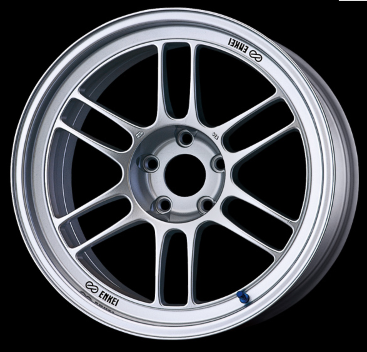 [Set of 4] ENKEI Racing RPF1 F:17x8.0J+45/R:17x9.0J+45 5x114.3 Silver for JZA80 SUPRA