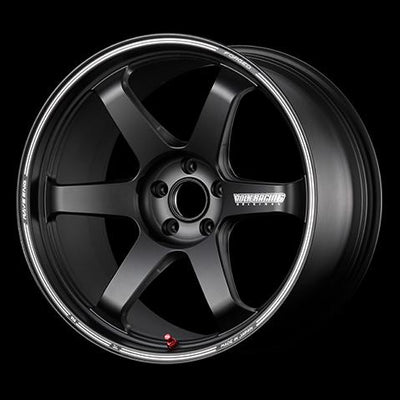 [Individually] RAYS VOLKRACING TE37 ultra TRACK EDITION II 20x12.0J +20 5x114.3 Blast Black