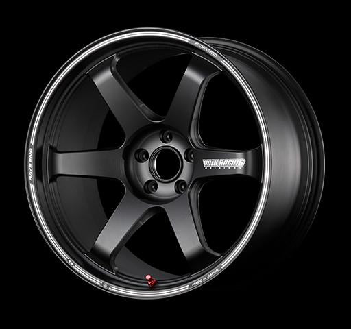 [Individually] RAYS VOLKRACING TE37 ultra TRACK EDITION II 19x8.5J +45 5x114.3 Blast Black