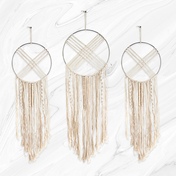 Macrame Wall Hanging Dream Catchers (Braid)