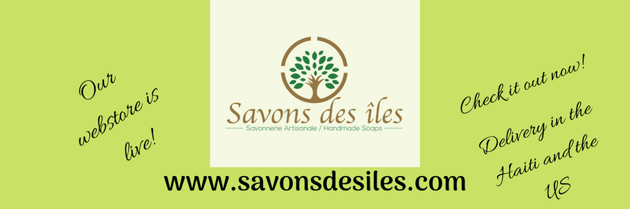 Our Webstore is open for business!  Check it out:  www.savonsdesiles.com