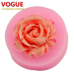 3D Rose Flower Silicone Mold - Cake Decorating Baking Tool