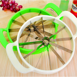Creative Watermelon Slicer - White and Green