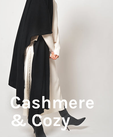 cashmere scarf, cozy sweater, primary new york, gift guide