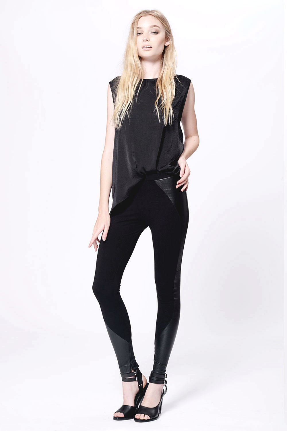 Moto Leather Legging - Primary New York