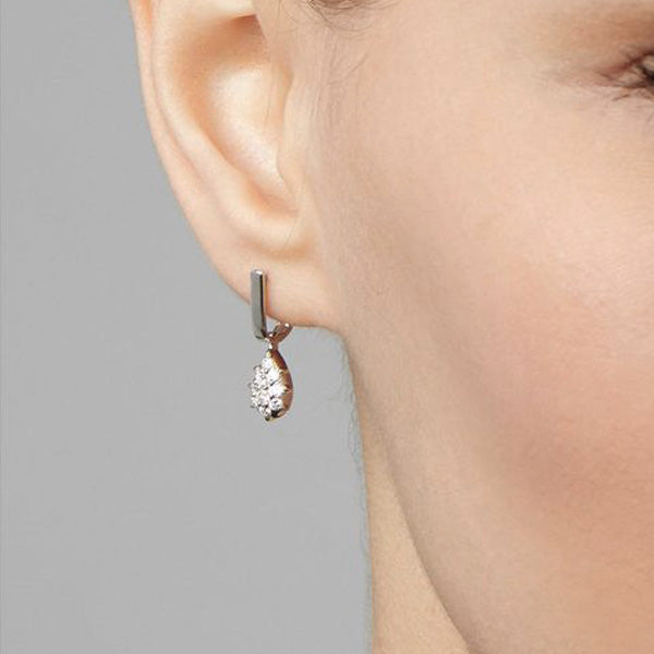 Carbon & Hyde Fantom Huggies Earrings