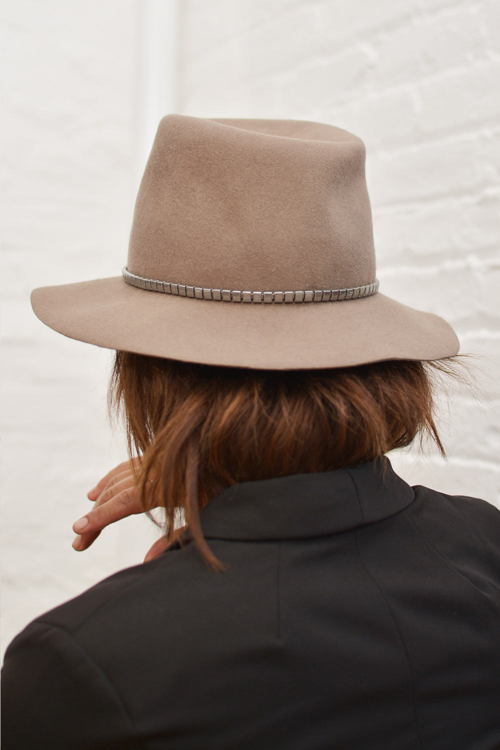 Lola Hats Hard Cobblestone Wool Hat