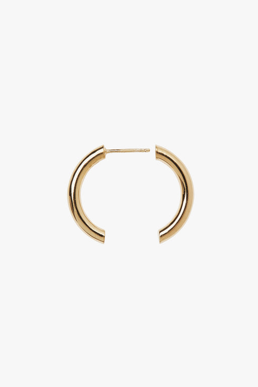 Maria Black Broken 25 Hoops - Primary New York