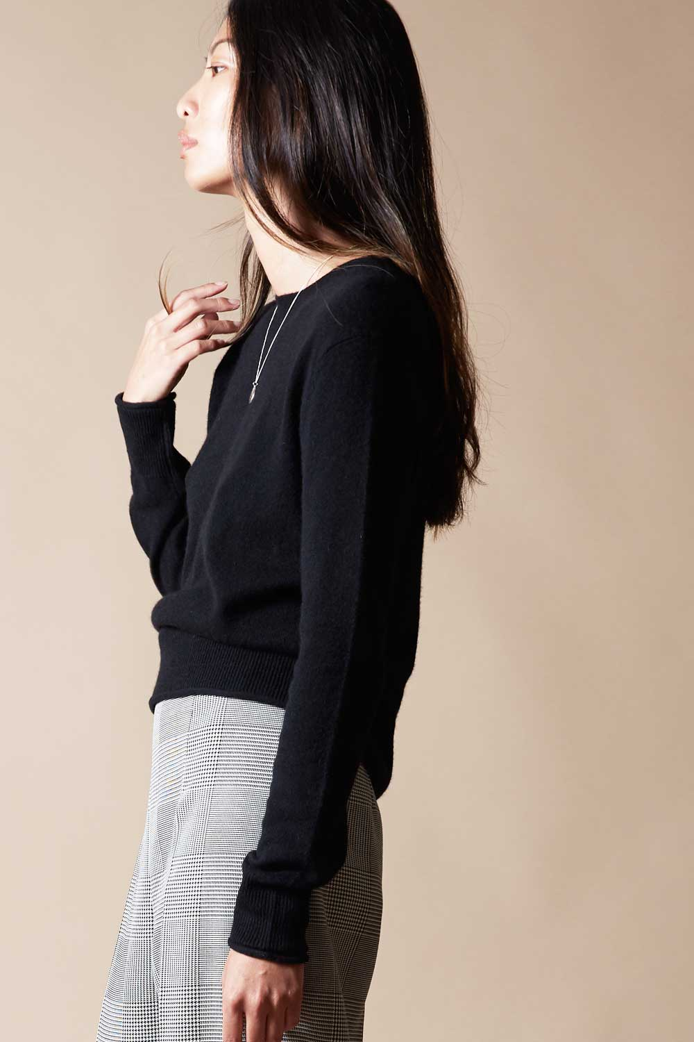 Primary Cashmere Crewneck Sweater