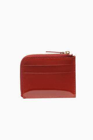 The Stowe Card Wallet - Patent Tomato