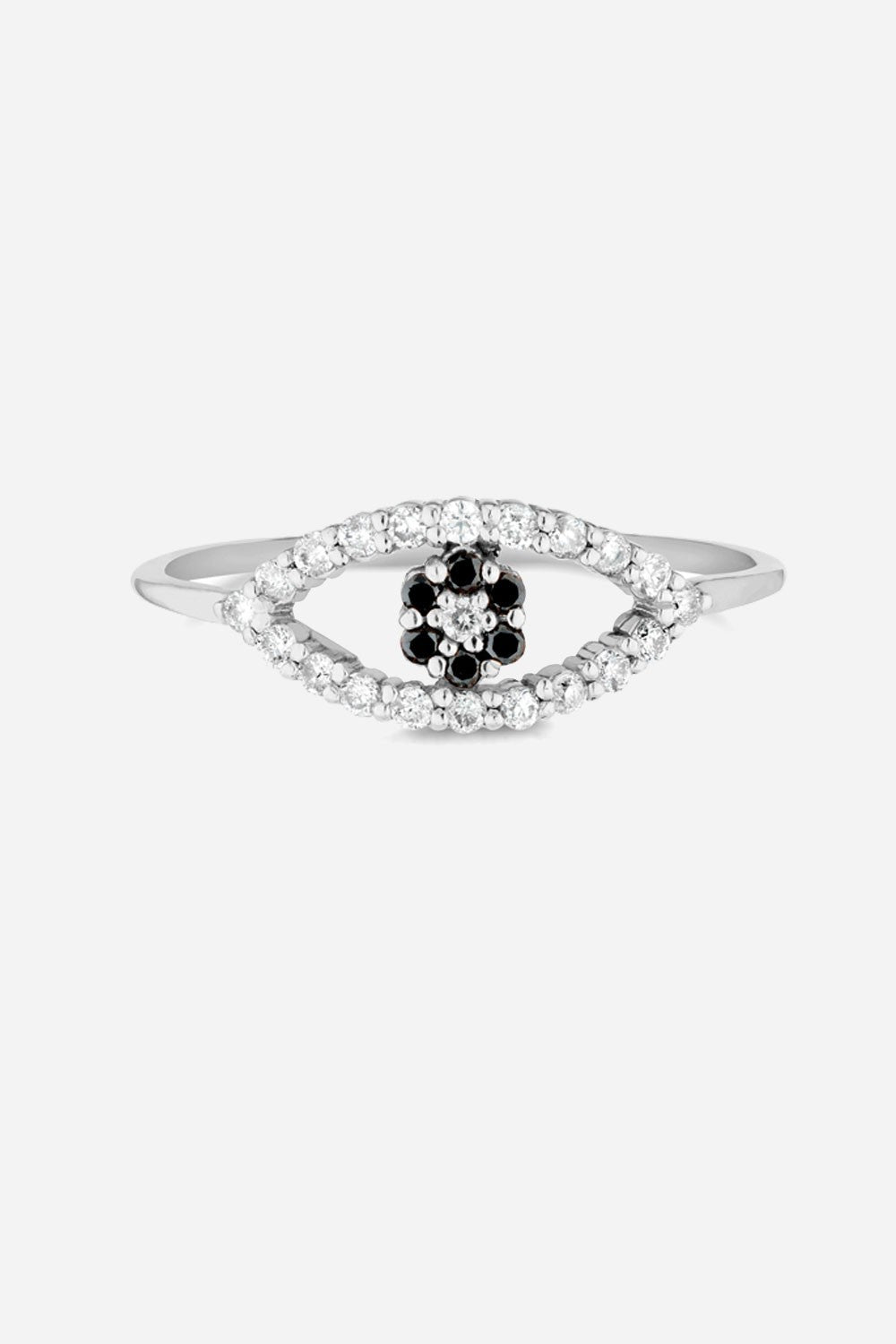 Carbon & Hyde Evil Eye Mini Ring - Primary New York