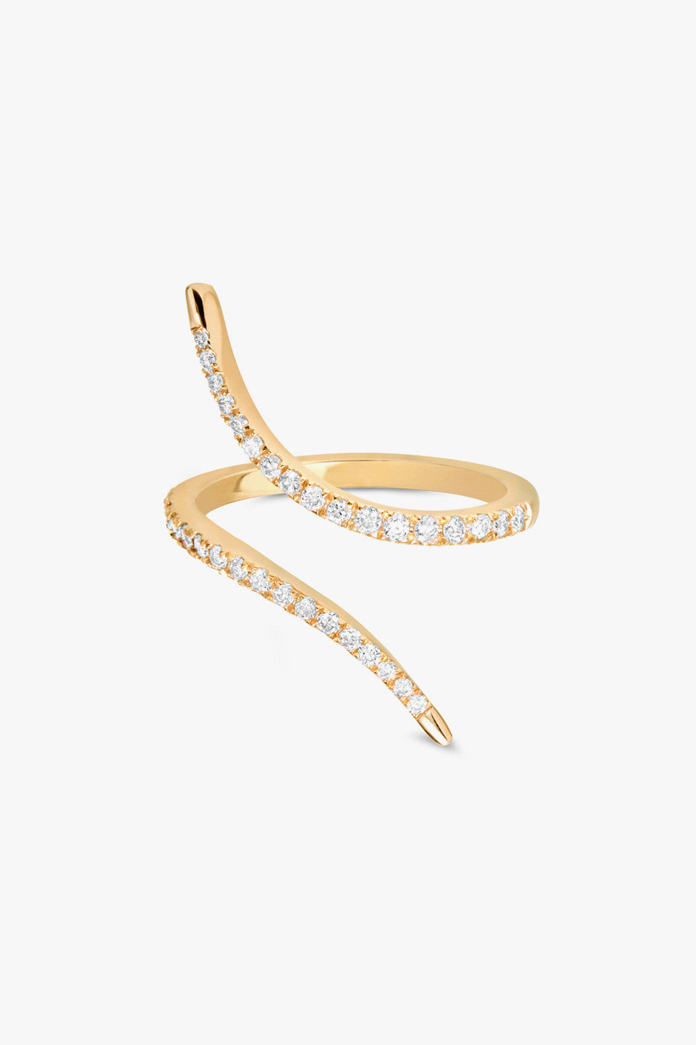 Carbon & Hyde Diamond Slither Ring - Primary New York