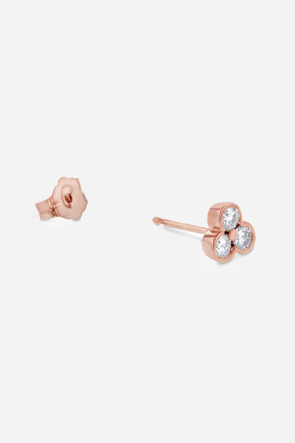 Carbon & Hyde Tri Stud Earrings - Primary New York