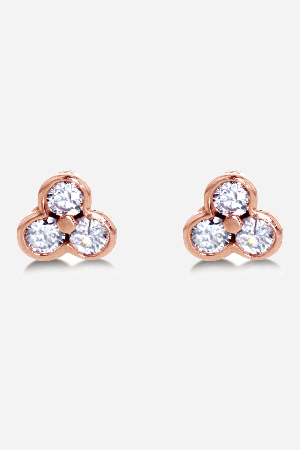 Carbon & Hyde Womens Diamond Stud Earring