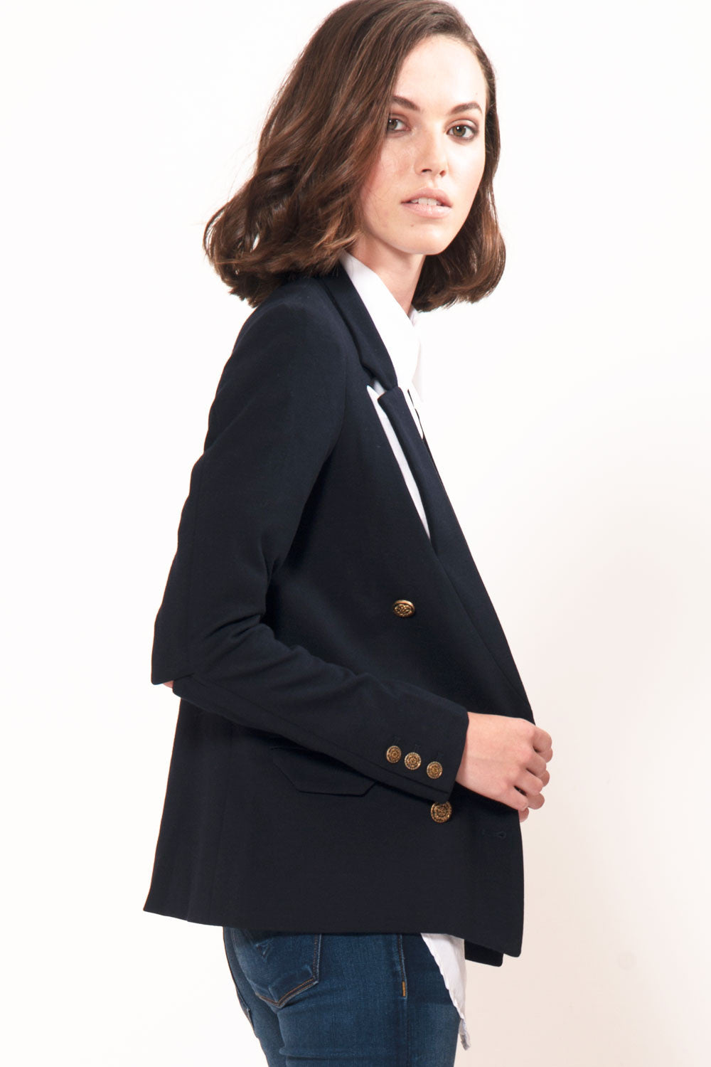 Cutout Blazer - Primary New York