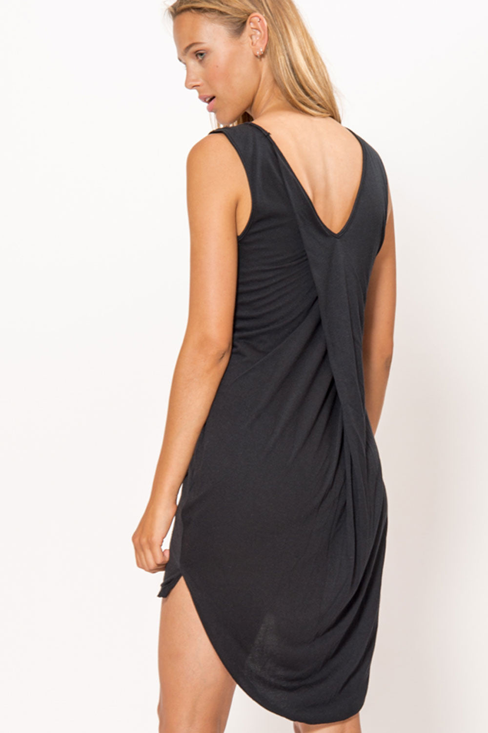 Draped Back Dress - Primary New York