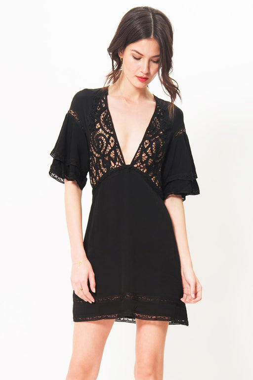 For Love and Lemons Carmine Mini Dress