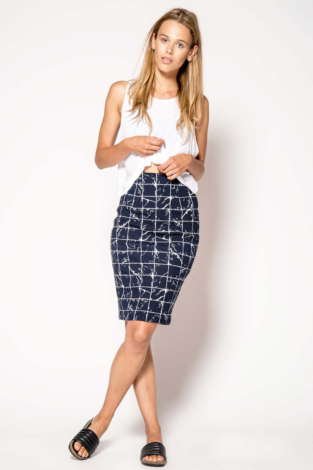 JUST FEMALE High Skirt - Primary New York