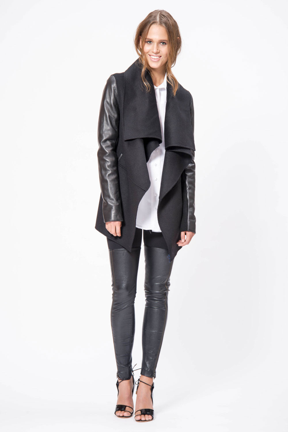 Thigh High Leather Legging - Primary New York