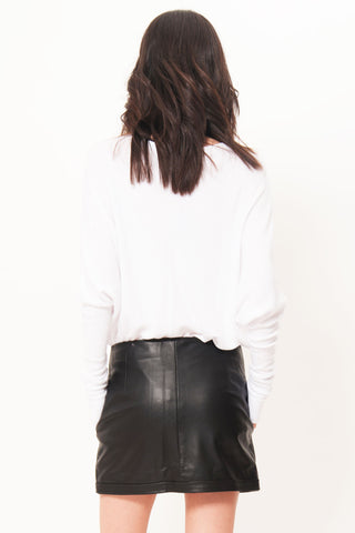 Lex Leather Skirt - Primary New York
