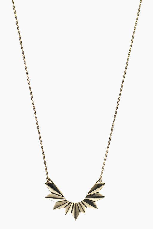 Maria Black Wing Necklace - Primary New York