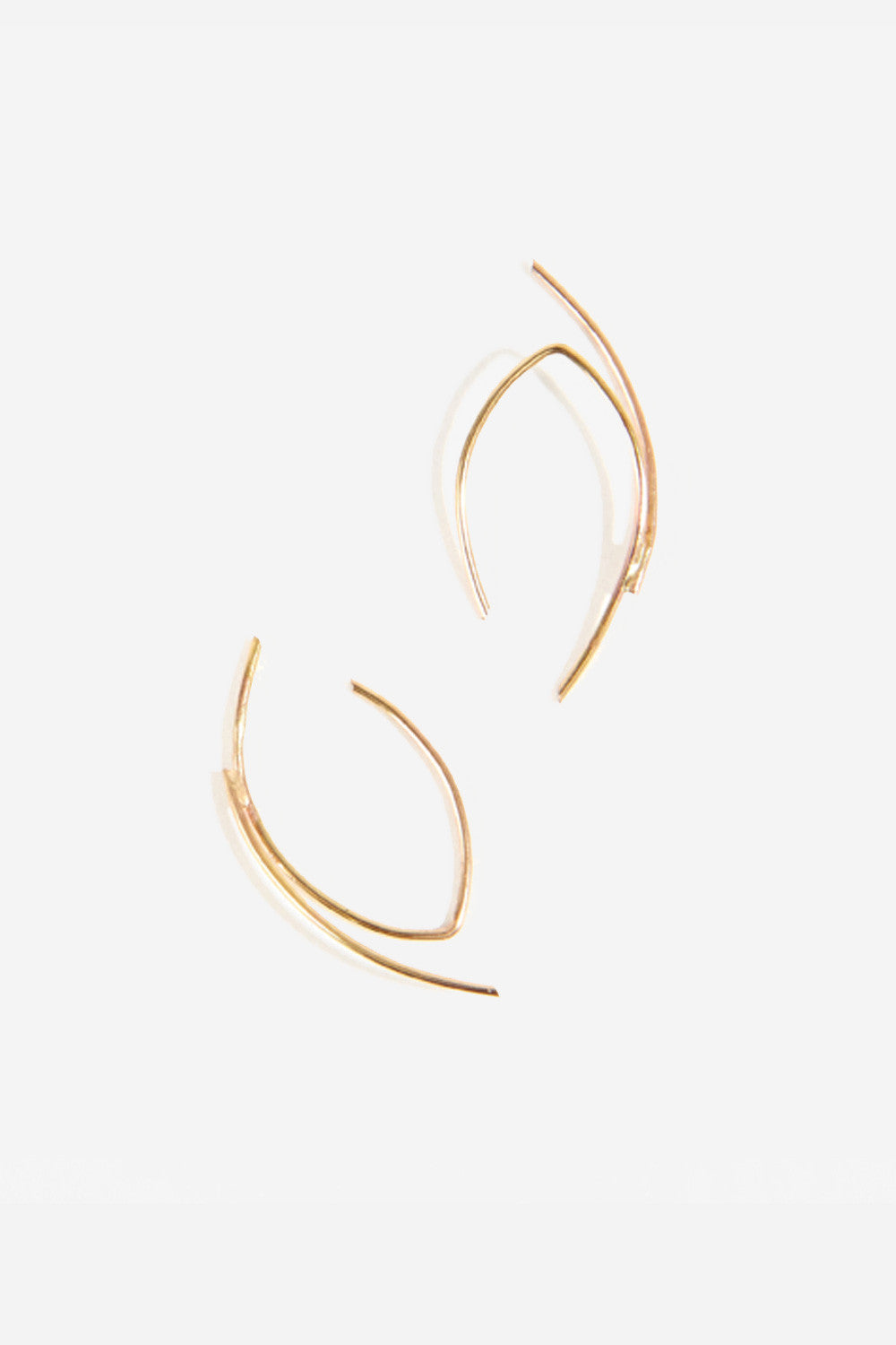 MAU V Slip On Earrings - Primary New York