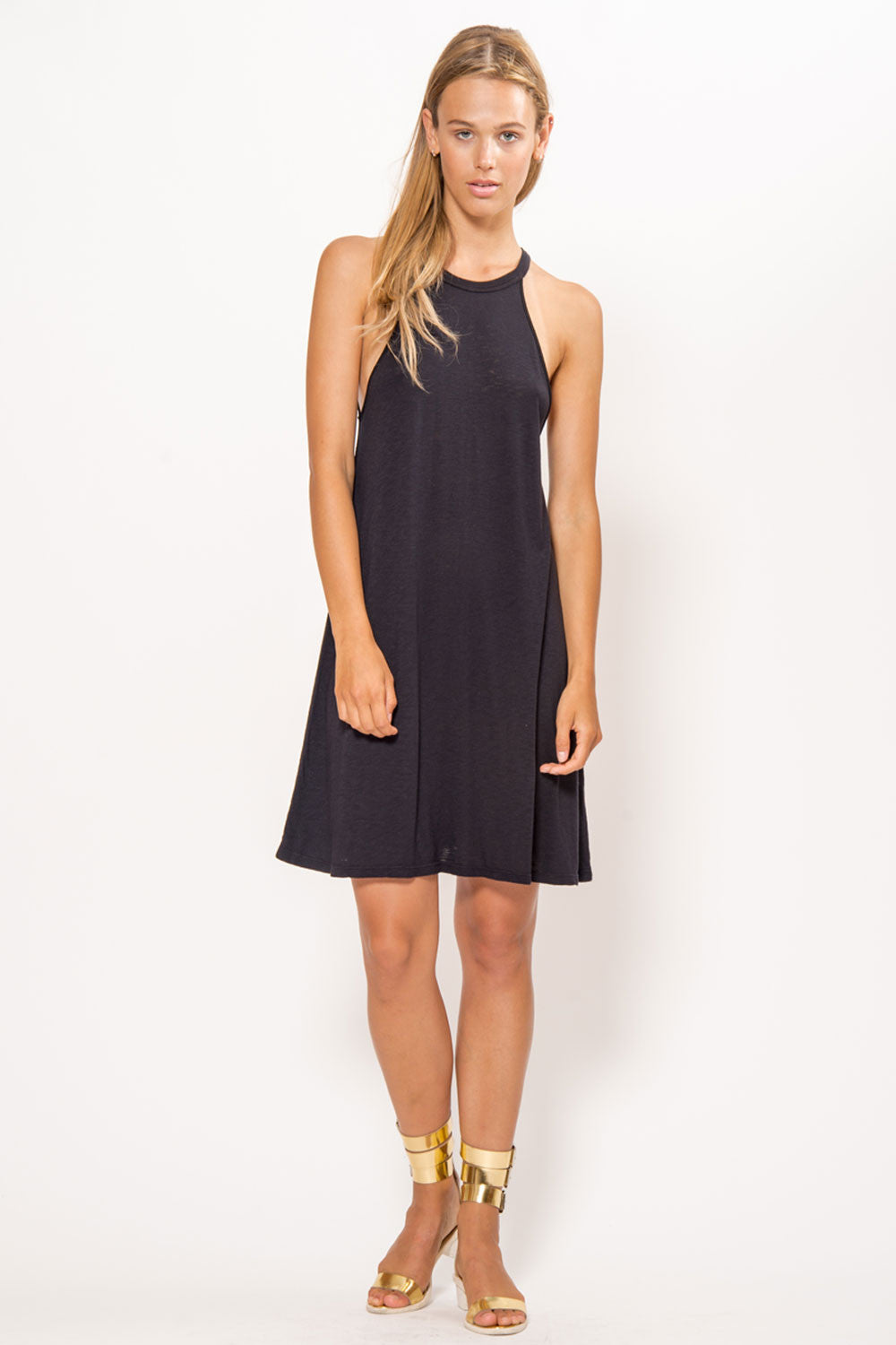 LACAUSA Petal Tank Dress - Primary New York